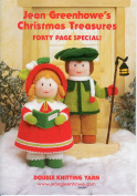 Jean Greenhowe Knitting Pattern Book Christmas Treasures