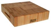 John Boos 18 by 46cm by 7.6cm End Grain Maple Chopping Block by John Boos