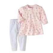 Rene Rofe Baby Newborn Girl Dress & Leggings, 2pc Outfit Set