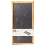 Living & Co Slate Cheese Serving Board 39cm