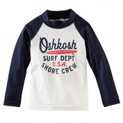 OshKosh B'gosh Little Boys' USA Rashguard - UPF 50+ - 2T
