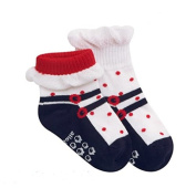 Lian LifeStyle Baby Boy's 1 Pair Non Slip Cotton Socks for All Seasons 1Y-3Y