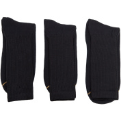 GT by Gold Toe Men's Big & Tall Cotton Dress Casual Socks, 3-Pack