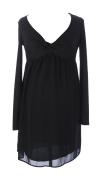 JULES & JIM Maternity Women's Mini Dress Medium Black/Gold