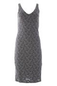VELVET by Graham & Spencer Women's Maternity Lace Midi Dress Large Pewter