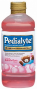 Paediatric Oral Supplement Pedialyte Bubblegum 1000 mL Bottle Ready to Use
