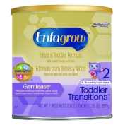 Enfagrow Toddler Transitions Gentlease Paediatric Oral Supplement Unflavored 590ml Can Powder - 1 Count