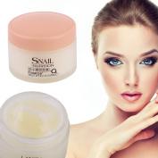 Golden LAIKOU No Wash Snail Sleeping Mask Cream Essence Moisturising Night Cream