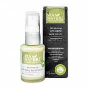 Via Nature Facial Serum - Anti-Ageing - Bio-Advanced - 30ml