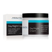 YEOUTH Day Night Moisturiser for Face with Snail Extract, Hyaluronic Acid, Green Tea, and Peptides, Anti Ageing Day Cream or Night Cream Moisturiser for Dry Skin, 120ml - GUARANTEED