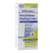Moisturiser TriDerma MD Vein Defence 70ml. Tube Cream Unscented-1 Each