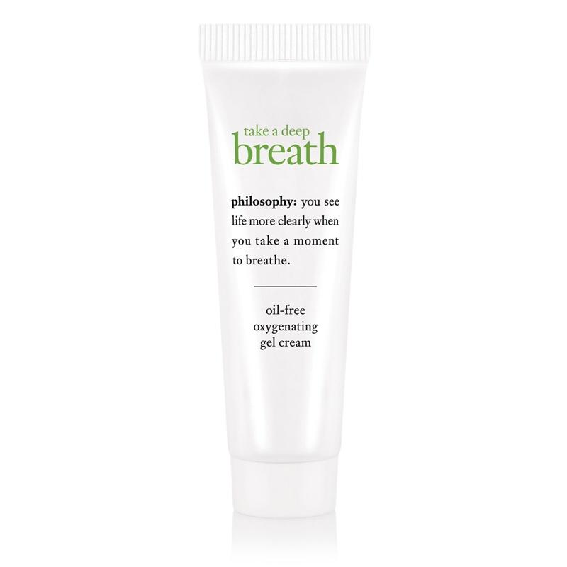 Philosophy - Take A Deep Breath Oil-Free Oxygenating Gel Cream (15ml)