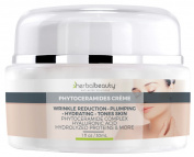 #1 RATED PHYTOCERAMIDES CREAM   CERAMIDE COMPLEX   Hyaluronic Acid   Shea Butter   Protein Complex, Essential Oils & Extracts   U.S. Manufactured!