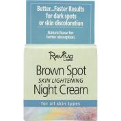 Reviva Night Cream, Brown Spot Skin Lightening, For All Skin Types, 45ml
