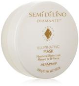 Semi Di Lino Cristalli Illuminating Mask by ALFAPARF for Unisex - 210ml Mask