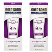 2 Pack - Gold Bond Ultimate Firming Neck & Chest Cream 60ml Each