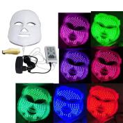Skin Rejuvenation Light Therapy Reduces Wrinkles 7 Colours LED Photon Facial Mask