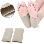 Gel Silicone Plantar Fasciitis Compression Socks Heel Ankle Arch Support Sleeves One Size