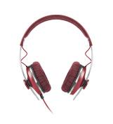 Sennheiser Momentum 1.0 Red On Ear Headphones