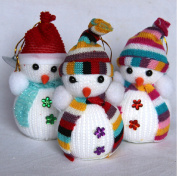 Christmas Tree Decorations Snowman Doll Children's Gift Tiny Toy