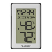 La Crosse Technology 308-1911 Indoor Temperature Station with Humidity Alerts