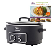 Ninja 5.7l 3 In 1 Slow Cooker with 150 Recipe Book