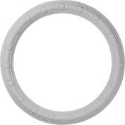 Ekena Millwork 50cm H x 50cm W x 5.7cm D Egg and Dart Ceiling Ring