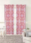 Mainstays Kids Grommet Room Darkening Boho Butterfly Single Curtain Panel