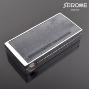 Salome portable ashtray EXPA61-02 Silver Blue bridle leather sarome brand portable ashtray expa61-02