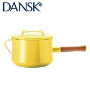 DANSK dance matrimony vine Ben-style one-handed pan 18cm deep model yellow JAN