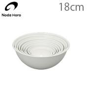 All Noda enamel ball white 18cm 1.0L JAN