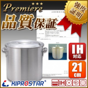 KIPROSTAR IH-adaptive aluminium cutting in round slices pan premiere 21cm for business use]
