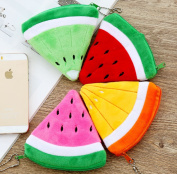 4 Pcs/Set Plush Fruits 10CM Plush Toys Keychains Plush Purses