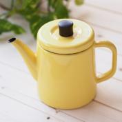 Noda enamel pottle 1.5L yellow yellow PTR-1.5K JAN