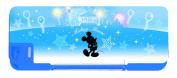 Disney blue (DSB) Disney Mickey Mouse [MickyMouse] box type pencil case (pen case, magnet pencil case)