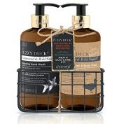 Baylis & Harding Fuzzy Duck Men's - Cedarwood & Wild Sage Grooming Essentials Bottle Rack
