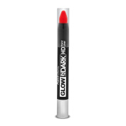 PaintGlow Glow In The Dark HD Paint Liner Stick, Neon Red 2.5 g