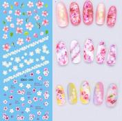 Nail Art Water Transfer Stickers Flower - DS280 Nail Sticker Tattoo - FashionLife