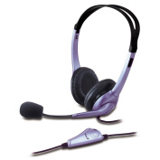 Genius HS-04S Headset with Noise Cancelling Microphone for PC, Laptop, Skype / iCHOOSE