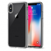 Spigen iPhone X Ultra Hybrid Case Crystal Clear,DROP-TESTED MILITARY GRADE,Elite Protection, Air