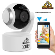Baby Monitor Home Monitor with 2 Way Audio 1080P–Smooth Night Vision PTZ Security Camera with Adjustable Motion Detection 360° Vision Surveillance Camera Support up to 128GB Storage for Mum