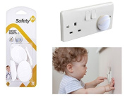 Baby Socket Inserts Electrical Uk Main Plug Cover Security Guard Safety 1st