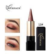 SMILEQ Eyeshadow Pen Beauty Waterproof Eyeliner Cream Eye Shadow Gel Mini Portable Pencil Makeup
