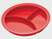 Divided Plate - Portion plate - Adult sectioned eating aid.