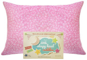 "Little Sleepy Head Toddler Pillowcase - Cuddle Collection (Alphabet Pink), 13"" X 18"""