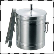 Puppy mark K 18-8 ice bucket (with a tong) 5L