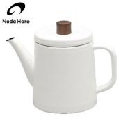 Noda enamel pottle 1.5L white white PTR-1.5K JAN