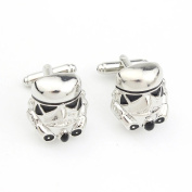 Cufflinks Star Wars Galactic empire imperial stormtrooper enamel mask Star wars costume prop / cosplay