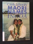 COOK ISLANDS MAORI NAMES INGOA, Jon Jonassen