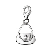 Oscaro Charms 925 Sterling Silver Nurse Bag Clip on Charm for Thomas Sabo style bracelets and necklaces